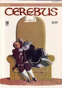 Cover Thumbnail for Cerebus (Aardvark-Vanaheim, 1977 series) #30