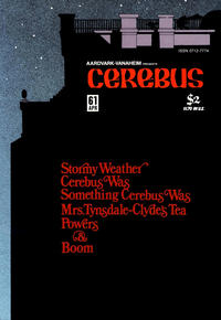 Cover Thumbnail for Cerebus (Aardvark-Vanaheim, 1977 series) #61