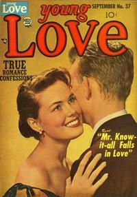 Cover Thumbnail for Young Love (Prize, 1949 series) #v4#7 (37)