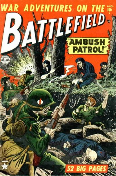 Cover for Battlefield (1952 series) #3