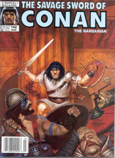 Cover for The Savage Sword of Conan (1974 series) #146
