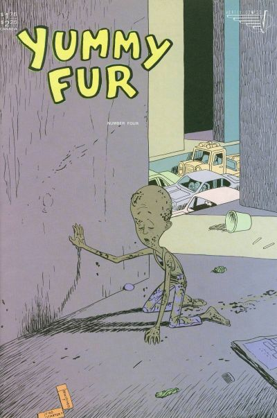 Cover for Yummy Fur (1986 series) #4