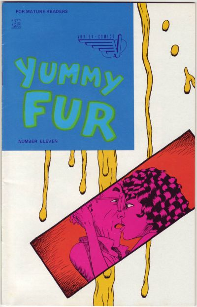 Cover for Yummy Fur (Vortex, 1986 series) #11