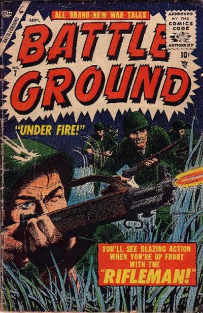 Cover for Battleground (1954 series) #7
