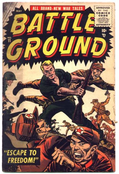 Cover for Battleground (Marvel, 1954 series) #11