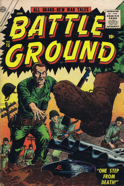 Cover for Battleground (Marvel, 1954 series) #15