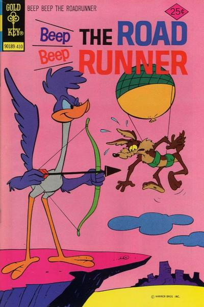 Cover for Beep Beep the Road Runner (Western, 1966 series) #46 [Gold Key Variant]