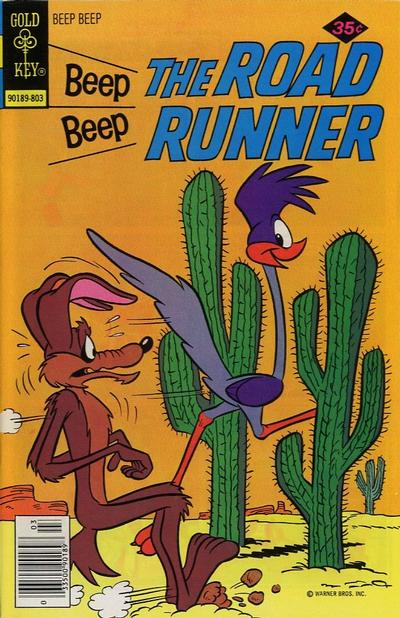 Cover for Beep Beep the Road Runner (Western, 1966 series) #70 [Gold Key]