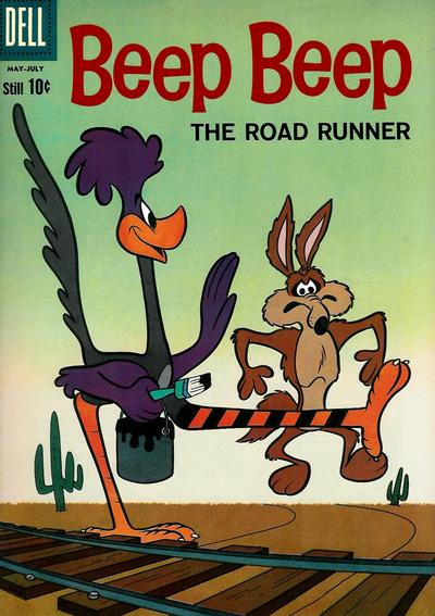 Cover for Beep Beep (Dell, 1960 series) #5