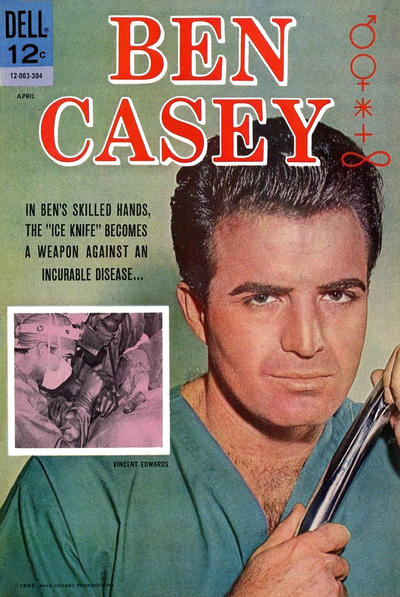 Cover for Ben Casey (Dell, 1962 series) #5