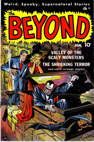 Cover for The Beyond (1950 series) #2