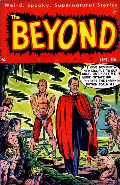 Cover for The Beyond (1950 series) #6