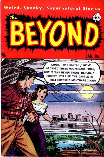 Cover for The Beyond (Ace Magazines, 1950 series) #8