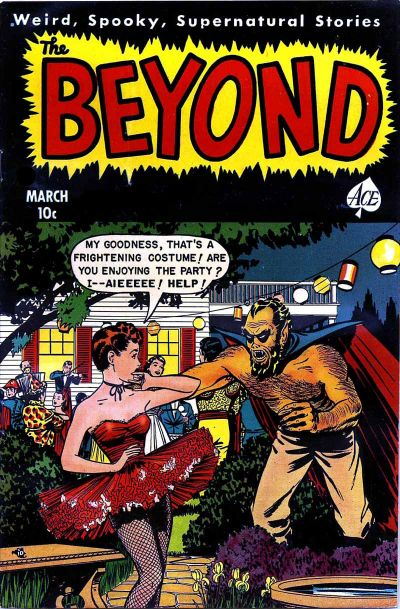 Cover for The Beyond (1950 series) #9