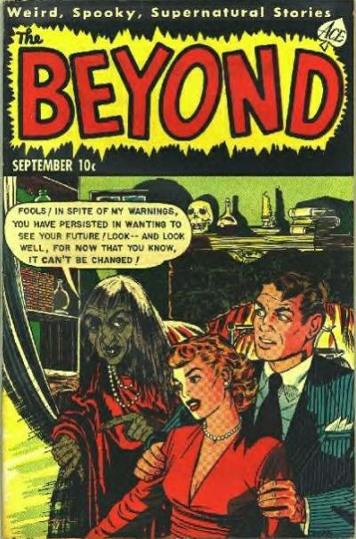 Cover for The Beyond (Ace Magazines, 1950 series) #15