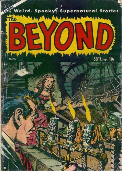 Cover for The Beyond (Ace Magazines, 1950 series) #28