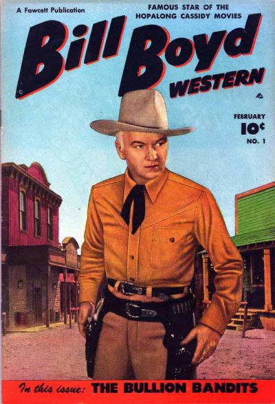 Cover for Bill Boyd Western (1950 series) #1