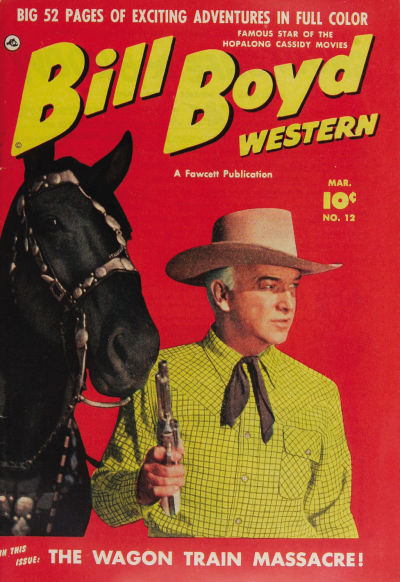 Cover for Bill Boyd Western (1950 series) #12