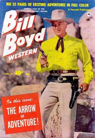 Cover for Bill Boyd Western (Fawcett, 1950 series) #13