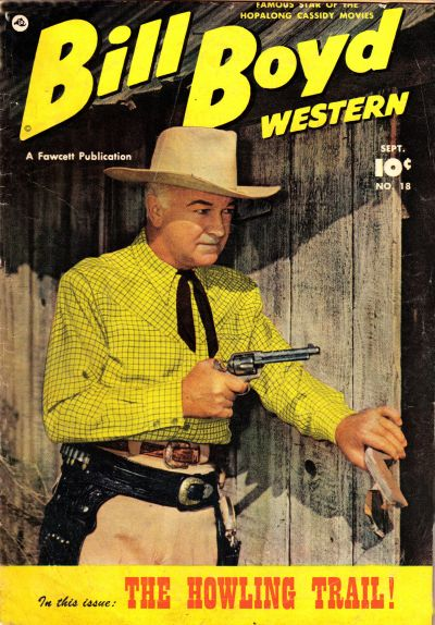 Cover for Bill Boyd Western (1950 series) #18