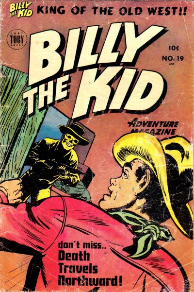 Cover for Billy the Kid Adventure Magazine (Toby, 1950 series) #19
