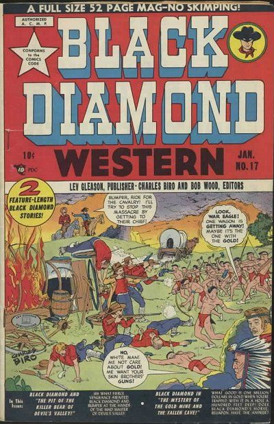 Cover for Black Diamond Western (1949 series) #17