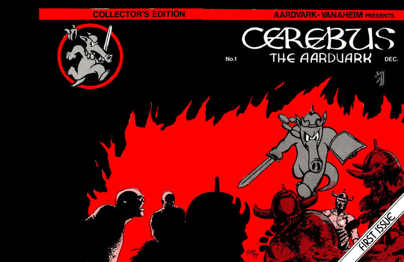 Cover for Cerebus (Aardvark-Vanaheim, 1977 series) #1