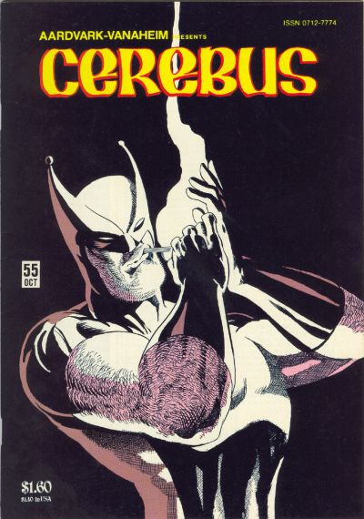 Cover for Cerebus (Aardvark-Vanaheim, 1977 series) #55