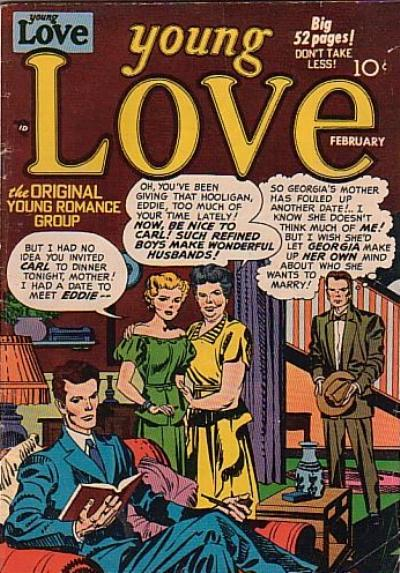 Cover for Young Love (Prize, 1949 series) #v2#12 [18]