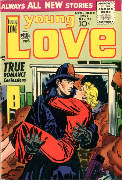 Cover for Young Love (Prize, 1949 series) #v6#10 (64)