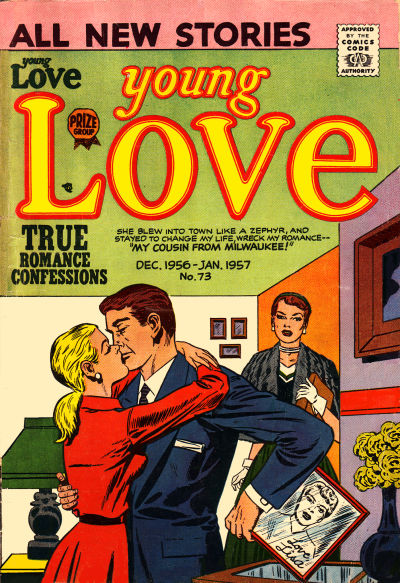Cover for Young Love (Prize, 1949 series) #v8#1 (73)