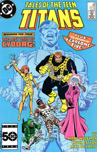 Cover Thumbnail for Tales of the Teen Titans (DC, 1984 series) #56