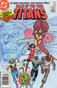 Cover Thumbnail for Tales of the Teen Titans (DC, 1984 series) #60