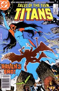 Cover Thumbnail for Tales of the Teen Titans (DC, 1984 series) #64