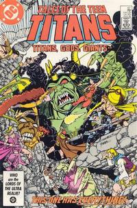 Cover Thumbnail for Tales of the Teen Titans (DC, 1984 series) #67 [Direct]