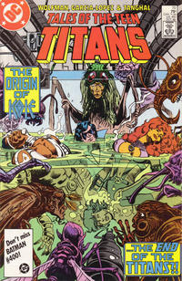 Cover Thumbnail for Tales of the Teen Titans (DC, 1984 series) #70 [Direct]
