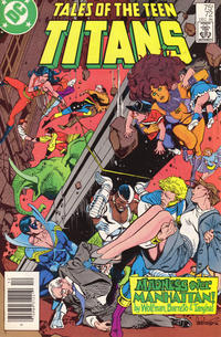 Cover Thumbnail for Tales of the Teen Titans (DC, 1984 series) #72