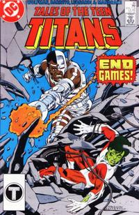 Cover for Tales of the Teen Titans (1984 series) #82 [Newsstand]