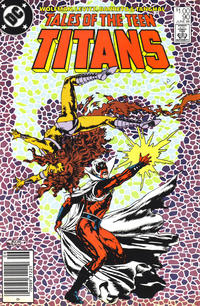 Cover Thumbnail for Tales of the Teen Titans (DC, 1984 series) #90