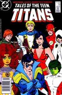 Cover Thumbnail for Tales of the Teen Titans (DC, 1984 series) #91