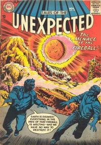 Cover Thumbnail for Tales of the Unexpected (DC, 1956 series) #19