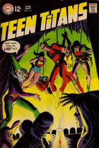 Cover Thumbnail for Teen Titans (DC, 1966 series) #19
