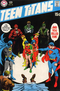 Cover Thumbnail for Teen Titans (DC, 1966 series) #25