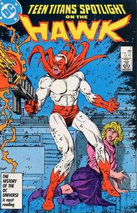 Cover Thumbnail for Teen Titans Spotlight (DC, 1986 series) #7