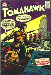 Cover Thumbnail for Tomahawk (DC, 1950 series) #51