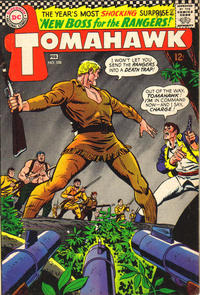Cover for Tomahawk (DC, 1950 series) #108