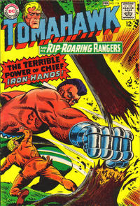 Cover for Tomahawk (DC, 1950 series) #114