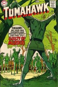 Cover Thumbnail for Tomahawk (DC, 1950 series) #118