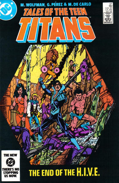 Cover for Tales of the Teen Titans (DC, 1984 series) #47 [Direct]