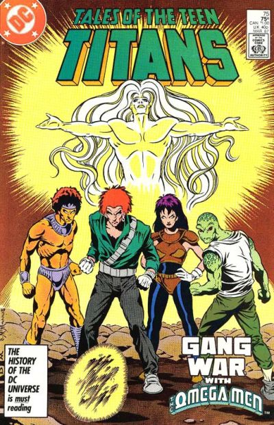 Cover for Tales of the Teen Titans (1984 series) #75 [Direct]